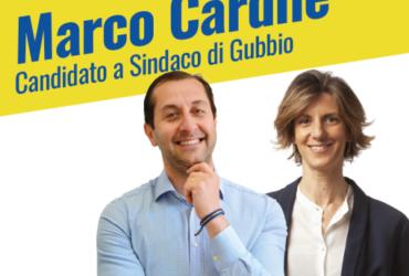 Gubbio, Cardile e Laureti incontrano i cittadini