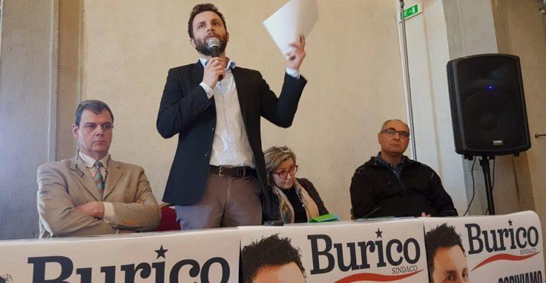 Elezioni a Castiglione del Lago, la sinistra marcia unita e si schiera con Burico (e il Pd)