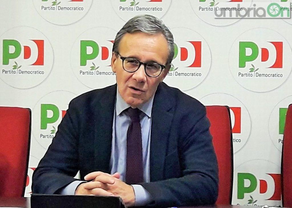 Walter-Verini commissario Partito Democratico Umbria