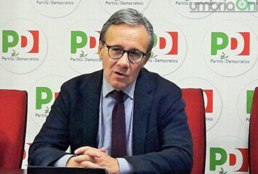 """Umbria, Verini: """"Multa di 30.000 euro a chi cambia casacca"""""""