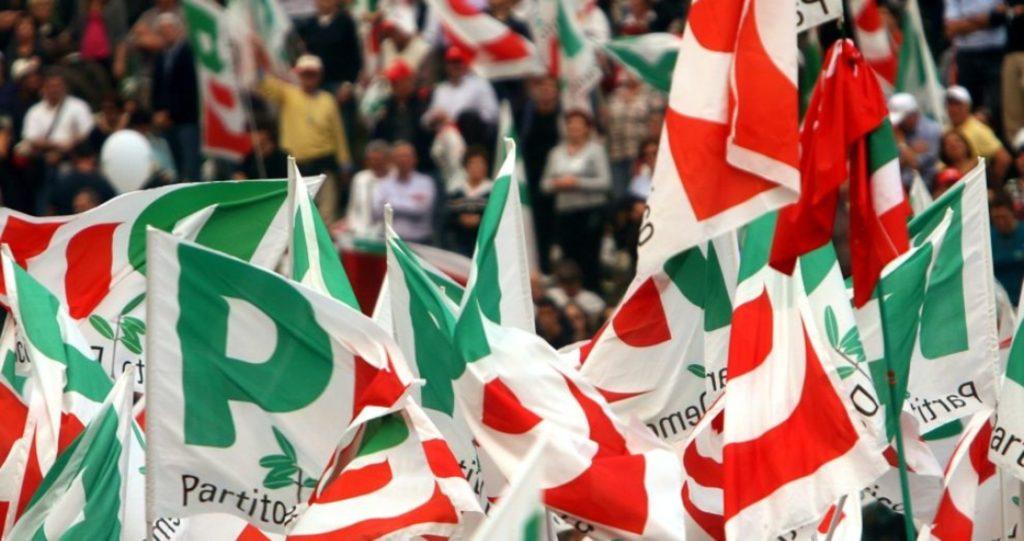 Bandiere Partito Democratico