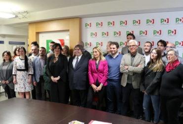 Elezioni a Perugia, la lista del Pd
