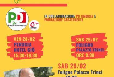28 e 29 febbraio: due giorni a confronto sull'Umbria