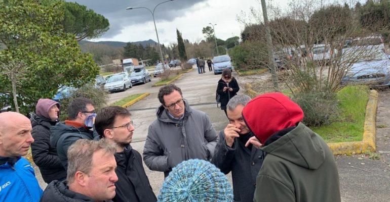 Vertenza Sangemini: Gruppo PD Regione presente al presidio per sostenere lavoratori e ribadire rispetto degli accordi